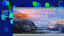 [BEST SELLING]  Title: The National Parks Americas Best Idea by