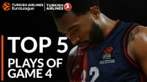 Top 5 Plays  - Turkish Airlines EuroLeague Playoffs Game 4