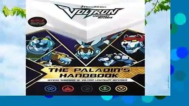 The Paladin s Handbook: Official Guidebook of Voltron Legendary Defender  Best Sellers Rank : #5