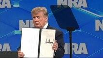 ترامب يسحب الولايات المتحدة من معاهدة الأمم المتحدة للسلاح