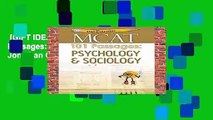 [GIFT IDEAS] Examkrackers MCAT 101 Passages: Psychology   Sociology by Jonathan Orsay