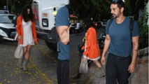 Arjun Rampal spotted with GF Gabriella Demetriades post pregnancy announcement |FilmiBeat