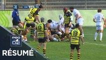 PRO D2 - Résumé Carcassonne-Provence Rugby: 33-24 - J29 - Saison 2018/2019