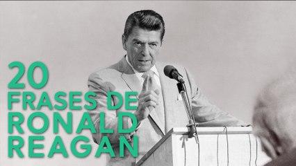 20 Frases de Ronald Reagan  | América durante la Guerra Fría