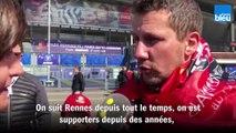 Un supporter du Stade Rennais confiant avant la finale de Coupe de France