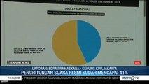 Hasil Sementara Situng KPU: Jokowi 56,34% Prabowo 43,63%