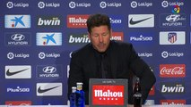 Reaction after Atletico Madrid beat Valladolid 1-0 in La Liga