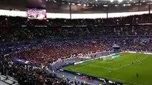 Finale de la Coupe de France : les supporters rennais donnent de la voix au Stade de France