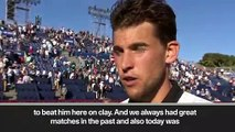 (Subtitled) Thiem 'super proud' after Nadal win