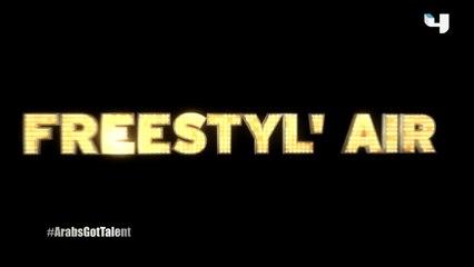 #ArabsGotTalent - Freestyl' Air يصدمون الجميع بأداء مبهر بتميزه وخطورته على مسرح البرنامج