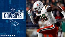Cowboys select Michael Jackson No. 158 in the 2019 draft