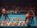 Konnan/Vampiro/Perro Aguayo vs Pierroth Jr/Cien Caras/Sangre Chicana (CMLL March 15th, 1992)