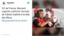 XV de France. Bernard Laporte confirme l'arrivée de Fabien Galthié à la tête des Bleus