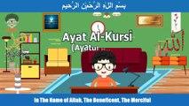 Learn Ayatul kursi for kids - Ayat al kursi children memorise - Ayetel kürsi dinle Sureler ve dualar