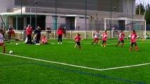 Tournoi U9, FCEE filles contre Cornas