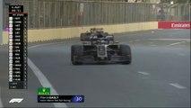 عطل في سيارة غاسلي يكلفه الخروج من سباق فورمولا 1 بحلبة أذربيجان