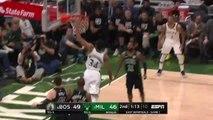 Giannis Antetokounmpo ain't messing around!! Celtics v. Bucks - Game 1