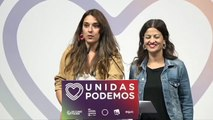 Primeras declaraciones de Podemos tras el cierre de urnas