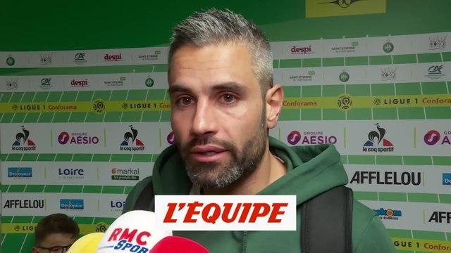 Perrin «On ne lâche pas, eux non plus...» - Foot - L1 - Saint-Etienne