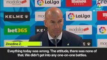 (Subtitled) After schock defeat: Furious Zidane refuses to defend Real Madrid players