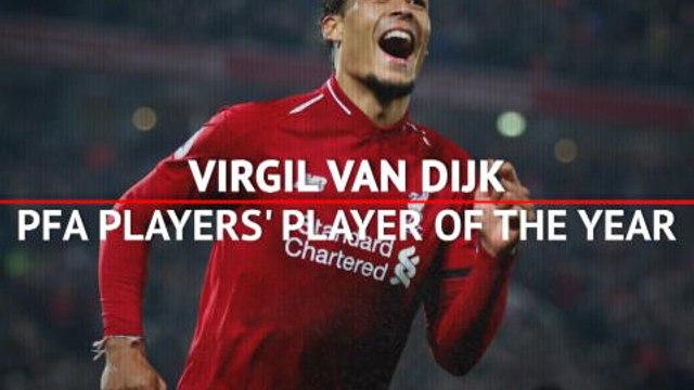 Virgil van Dijk - PFA Players' Player of the Year