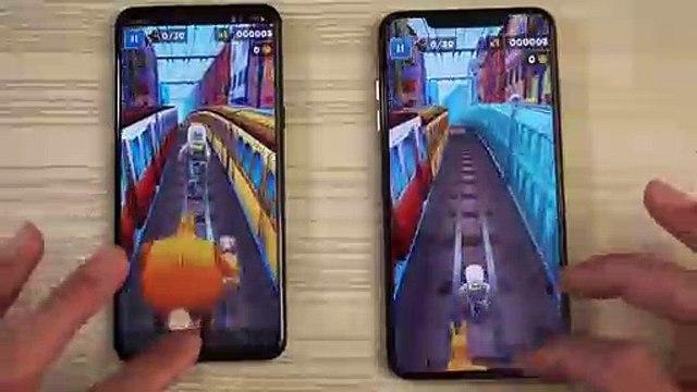 LG G8 vs iPhone XS Max - Speed Test!