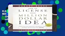 R.E.A.D How to License Your Million Dollar Idea: Cash In On Your Inventions, New Product Ideas,