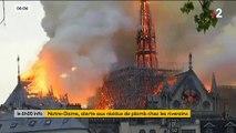 La préfecture de police de Paris lance une alerte après avoir relevé des résidus de plomb à proximité de Notre-Dame