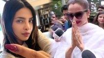 Priyanka Chopra, Rekha & others Bollywood celebs cast their vote in Mumbai; Watch Video | FilmiBeat