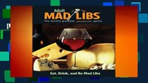 [MOST WISHED]  Eat, Drink, and Be Mad Libs (Adult Mad Libs) by Douglas Yacka