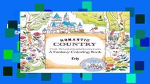 [MOST WISHED]  Romantic Country: A Fantasy Coloring Book by Eriy