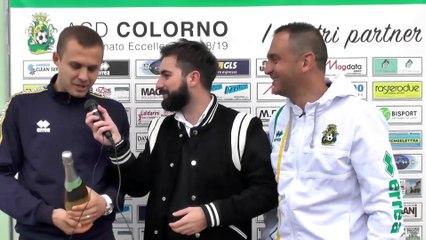 Colorno Felino 4-1, le interviste a caldo