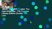 [MOST WISHED]  Avatar: The Last Airbender - The Promise Library Edition (Avatar: The Last