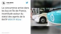 La concurrence arrive dans les bus en Île-de-France, incertitude autour du statut des agents de la RATP
