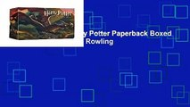 [MOST WISHED]  Harry Potter Paperback Boxed Set: Books #1-7 by J K Rowling