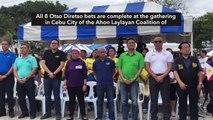 Otso Diretso reunites in Cebu City, but local allies still a no-show