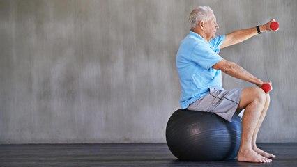 Laute Studie schützt  schon 1 Stunde Sport pro Woche vor körperlichen Gebrechen im Alter