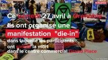Extinction rébellion: qui sont ces militants qui ont manifesté au centre commercial Grand Place de Grenoble?