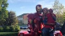 Kylie Jenner, Travis Scott and Daughter Stormi dress up as 'Avengers'