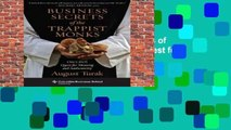 [MOST WISHED]  Business Secrets of the Trappist Monks: One CEO s Quest for Meaning and