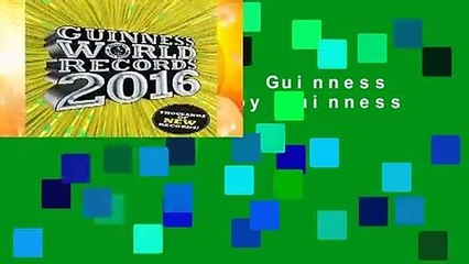 [MOST WISHED]  Guinness World Records by Guinness World Records