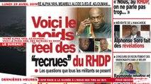 Le Titrologue du 29 Avril 2019 : Touré Alpha Yaya, Adjoumani…., voici le poids réel des recrues du RHDP