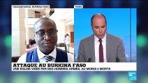 Attaque au Burkina Faso : une église visée par des hommes armés, au moins 5 morts