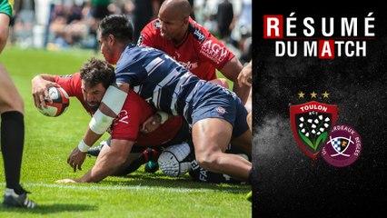Résumé Toulon/Bordeaux-Bègles TOP14 J23