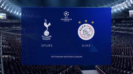 Tottenham Hotspur vs. Ajax - UEFA Champions League Semi-final 2018-19 - CPU Prediction