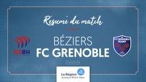 Béziers - Grenoble U16 : le résumé vidéo