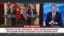 Cumhurbaşkanı Erdoğan-Trump görüşmesi