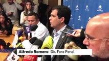 Alfredo Romero: Venezuela tiene 775 presos políticos