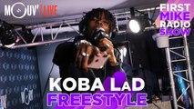 KOBA LaD : Freestyle sur un son de Sefyu (Live @Mouv' Studios)