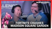 Fortnite Crashes Madison Square Garden
